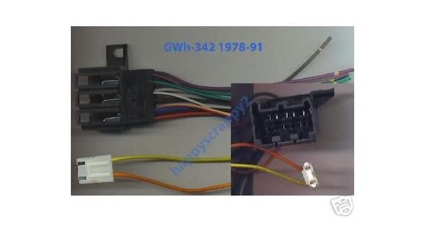 amazon com: stereo wire harness chevy pickup 84 85 86 87 (car radio wiring  installation p : automotive
