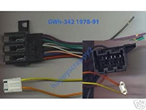 41C7X5F17VL._SX300_ amazon com stereo wire harness chevy corvette 84 85 86 87 88 (car Aftermarket Radio Wiring Harness at soozxer.org