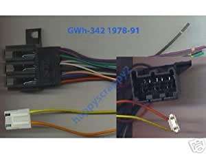 stereo wire harness chevy el camino 78 79 80. Black Bedroom Furniture Sets. Home Design Ideas
