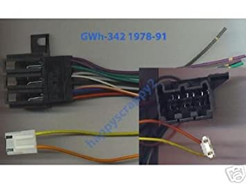 41C7X5F17VL._SX355_ amazon com stereo wire harness chevy pickup 84 85 86 87 (car 84 c10 wiring harness at readyjetset.co