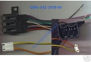 [DHAV_9290]  Amazon.com: Stereo Wire Harness Chevy Camaro 82 83 84 85 86 87 (car Radio  Wiring installa.: Automotive | 1986 Camaro Wiring Harness Factory |  | Amazon.com