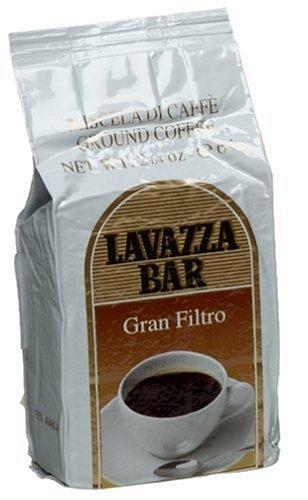 Amazon.com: Lavazza café molido Gran Filtro, 2 1/4-Ounce ...