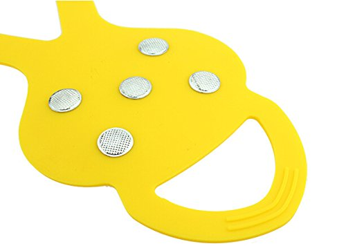 Slip Shoes Fletion 5 slip Type Crampons Teeth Yellow Spikes Simple Pumpkin Pronged Outdoor with 5 Five Anti Tooth Crampons aqR8rxzfqw