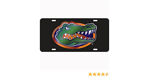 Craftique Florida Gators Black Laser Cut License Plate