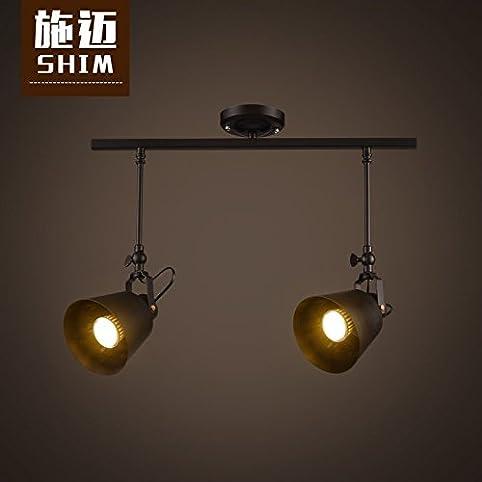 TYDXSD American industrial vintage coffee table lamp LED spot light ...