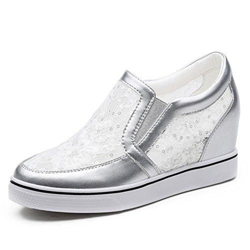Aumento casual zapatos de las señoras de primavera a verano/Zapatos de joker/La versión coreana de zapatos planos B