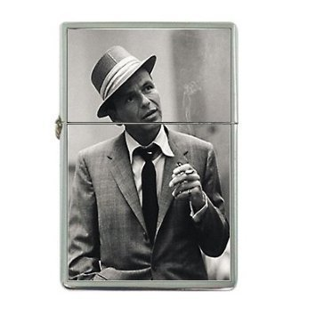 New Product frank-sinatra Flip Top Cigarette Lighter + free Case Box