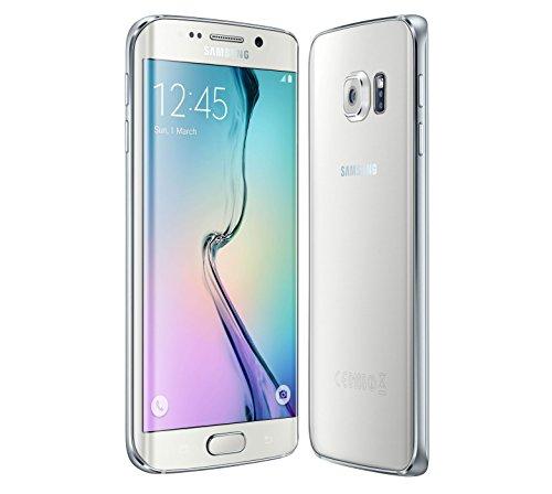 Samsung Galaxy S6 Edge G925F 64GB Unlocked GSM LTE Octa-Core Smartphone - White Pearl (International version, No Warranty)