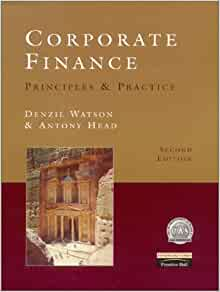 corporate finance denzil watson
