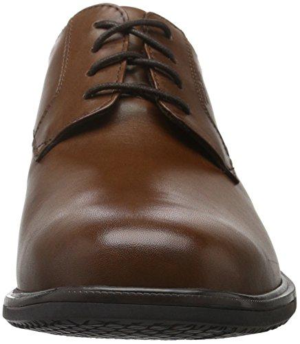 Rockport Herren Essential Details Ii Plain Toe Derby Braun (TAN ANTIQUE LEA)