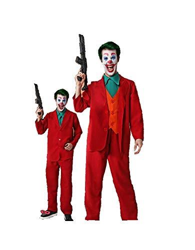 DM Disfraz de Joker/Payaso/Diabólico/Asesino. Incluye ...
