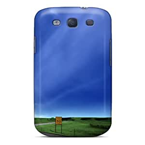 New Fashionable CollectingCase UAcDN14657QIGNn Cover Case Specially Made For Galaxy S3(road)