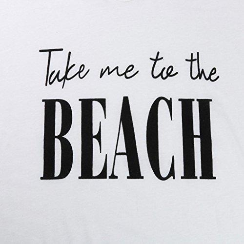 UPS Beach Cover Bikini Mini Blanc Letters Soire Plage Casual Guesspower Baggy Ete Tassel Chic Boheme Robe Imprimer Dress de de Femme Robe Maillots Bain ggHqU1RW