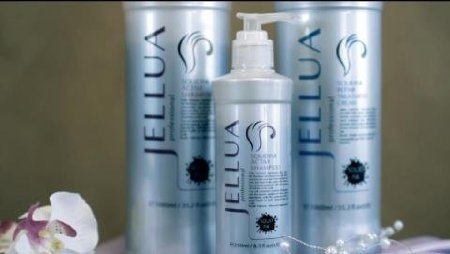 Jellua Squidink Active Shampoo and Treatment Creme 8.5 Ounce Duo