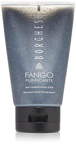 Borghese Fango Purificante Skin Clearing Facial Scrub, Black, 3.5 fl. oz.