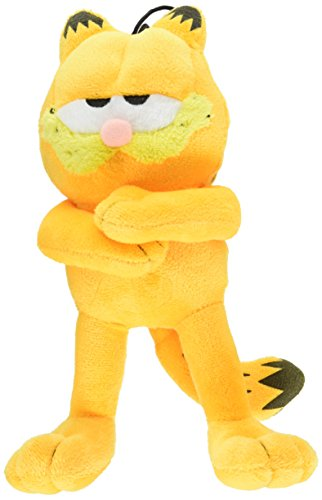 Multipet Classic Officially Licensed Plush Garfield Squeak Toy for Dogs Assorted, 10-Inch - Licensed Garfield