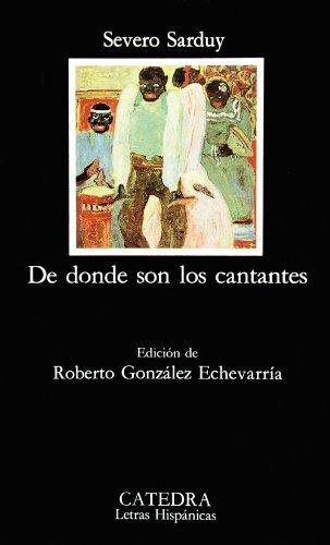 De donde son los cantantes (Letras hispanicas) (Spanish Edition)