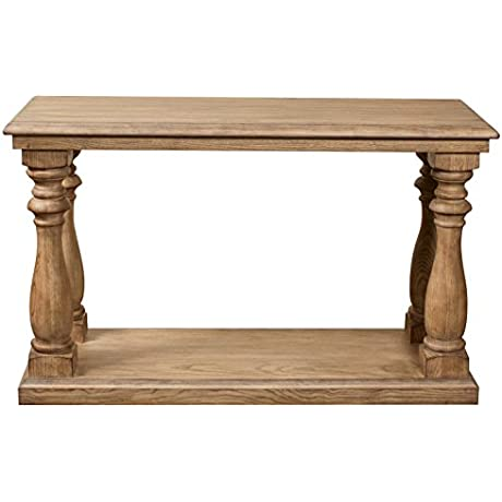 Sofa Table In Toasted Pecan Finish