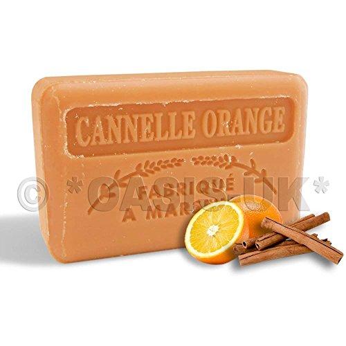 Foufour 125G Savon De Marseille Soap - Orange Cinnamon (Cannelle Orange)