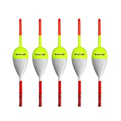 SENSITIVE VISIBLE SPRING SLIP BOBBERS Spring Slip bobbers are Extremely Sensitive and visible.  Very responsive when the fish takes the bait.  Slip bobbers slide freely up and down your fishing line.  Work Great for fishing in a variety of si...