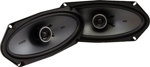 """Kicker 41KSC4104 4x10"""" 2-Way Coaxial Speaker - Pair"""