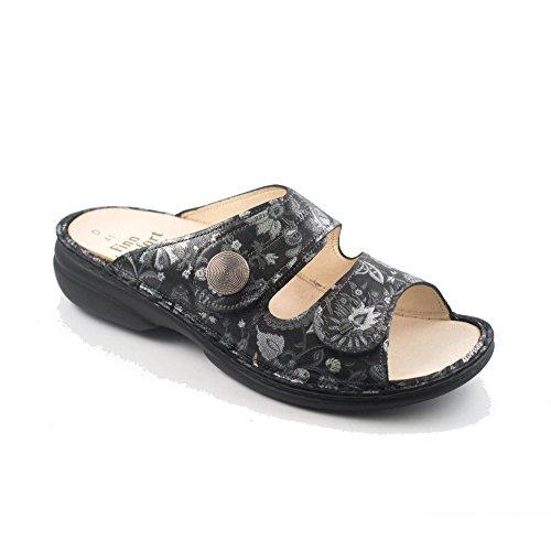 Finn Comfort Women's 2550595413 Clogs Black Qyn4XC