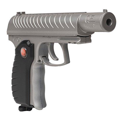 Semi Pistol Silver Auto Air (Hatsan Riptor Semi-Auto Blowback BB Pistol, Metallic Silver)