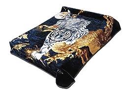 Solaron Super Thick Heavy Weight Ultra Silky Soft Mink Heavy Duty Reversible Blanket Bed comforters bedspreads Bedding Comforter King Queen