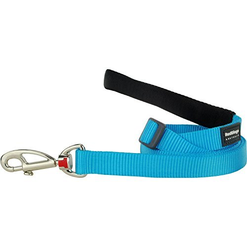 Red Dingo Classic Dog Lead, Large, Turquoise by Red Dingo