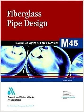 fiberglass pipe design manual manual of water supply operations