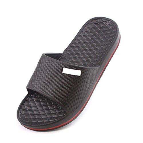 House Gym Black Shower Sandals Pool Shoes Slippers Sport Slide Flop Flip RoseSummer 41x8RqU1