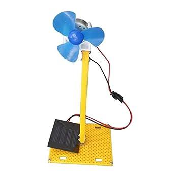 ExcLent Kit De Ventilador Solar De Bricolaje Para El Modelo De ...