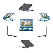 "mCover Hard Shell Case for 13.3"" HP Stream 13 Cxxx series Windows laptops (Black)"
