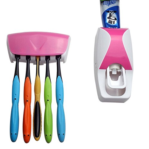 39 opinioni per Dispenser automatico di dentifricio,Stoga porta spazzolini da denti con