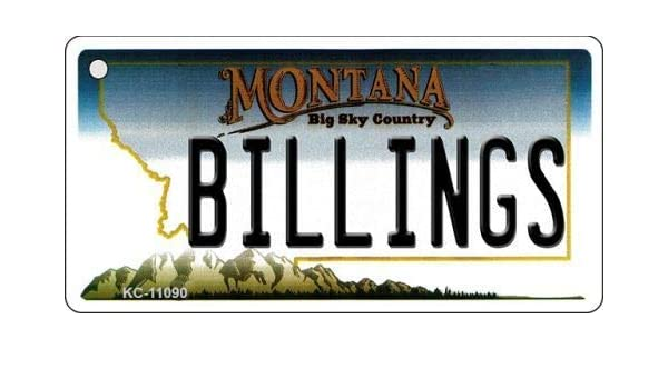 Amazon com: Bargain World Billings Montana State License Plate