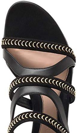 Alexander McQueen Luxury Fashion Damen 559911WHS4V1088 Schwarz Leder Sandalen | Jahreszeit Outlet