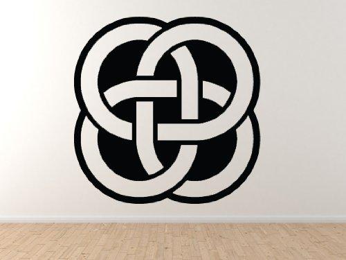 (Celtic Pattern #11 - Knot Medallion Square Irish Heritage - 45