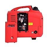 Goplus Gas-Powered Inverter Generator Portable Digital 4 Stroke 53cc Single Cylinder CE, GS, CARB & EPA Compliant, 1250W