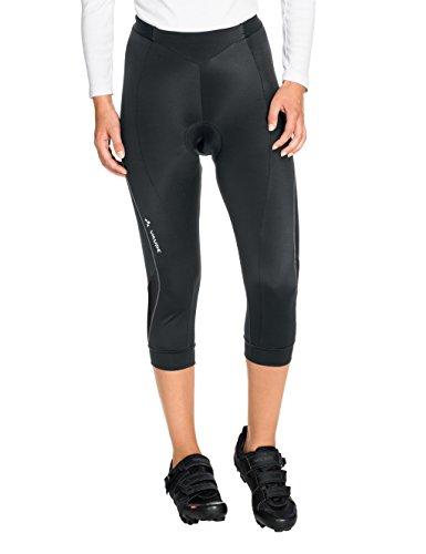 VAUDE Damen Hose Advanced 3/4 Pants II, Black, 38, 06776