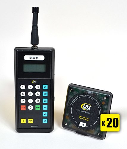 Lrs 20 Pager Guest Paging Kit Buy Online In Uae