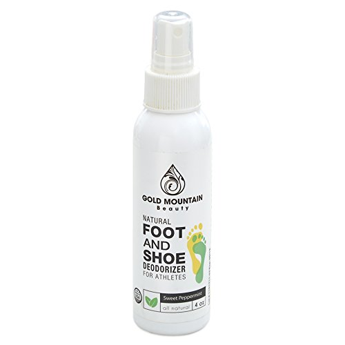 - Most Effective All Natural Shoe Deodorizer Spray and Foot Odor Eliminator - Extra Strength that Destroys Odor from Stinky Shoes,4 oz