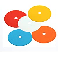 Eco Walker Flat Cones Spot Markers Soccer Basketball Sports Speed Agility Training (Set of 10pcs)