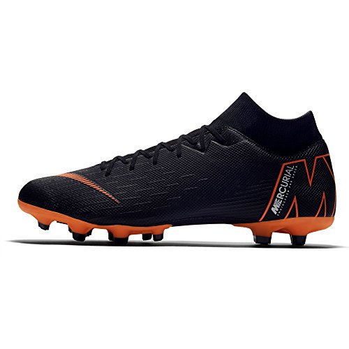 Mercurial de VI 081 Football Nike Academy Black Homme Chaussures w Black Noir MG Orange Total Superfly Total Orange FSdfwq