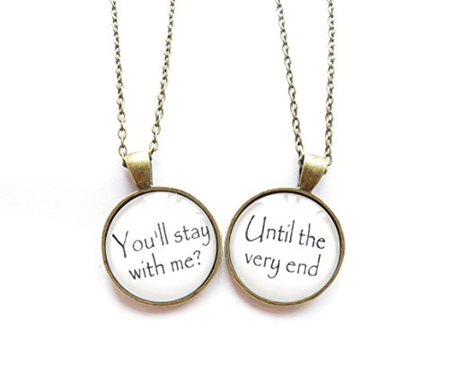 Harry Potter Stay with Me/Until the Very End Necklaces