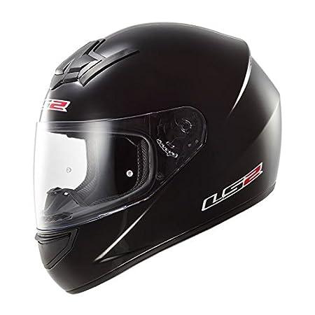 LS2 FF352 ROOKIE FLUTTER MOTORCYCLE MOTORBIKE SCOOTER FULL FACE CRASH ROAD HELMET BLACK PURPLE XL