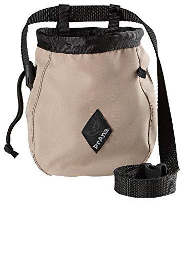 PRANA Chalk Bag with Belt Dark Khaki-DKKH (Prana Chalk Bag)