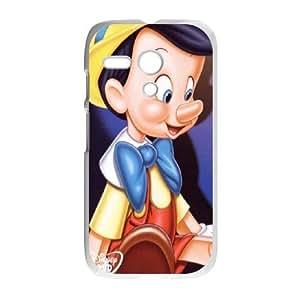 Personalized Durable Cases Motorola Moto G Phone Case White Edbau Pinocchio Protection Cover