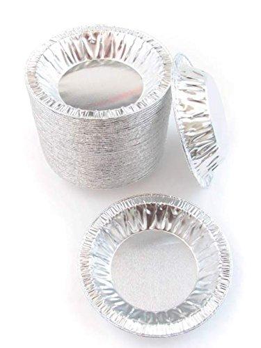 """4 1/2"""" Disposable Aluminum foil Tart Pans/Mini Pie Pans- ..."""