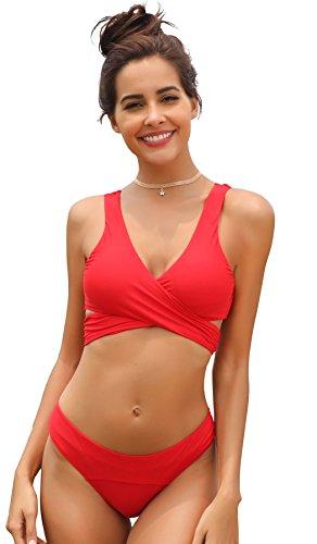 Dark Red Bikini in Australia - 8