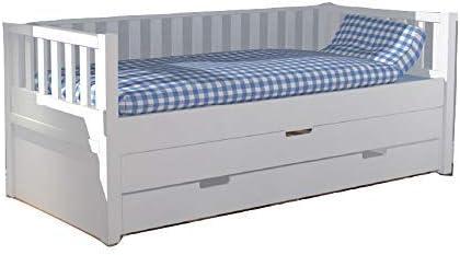 Jump-Up Cuna Jona con cama de invitados y cajón de cama ...